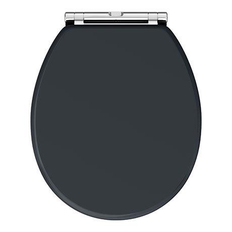 Chatsworth Graphite Soft Close Toilet Seat