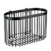 Black Large Wire Shower Basket profile small image view 1