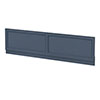 Chatsworth Blue 1800 Traditional Front Bath Panel profile small image view 1