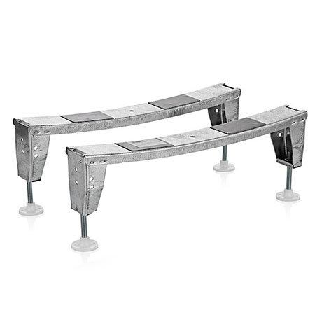 Bath Leg Set for 800mm Wide Aurora Steel Enamel Baths