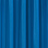 Blue W1800 x H1800mm Polyester Shower Curtain profile small image view 1