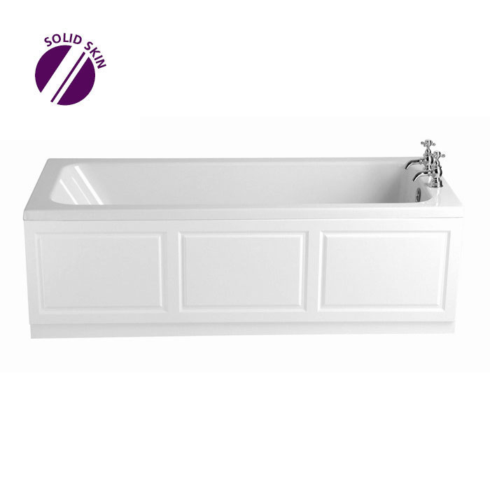 Heritage Wynwood Single Ended Bath with Solid Skin (1700x750mm) Large Image