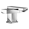Mayfair Blox Mono Basin Mixer Tap with Click Clack Waste - BLX009 profile small image view 1