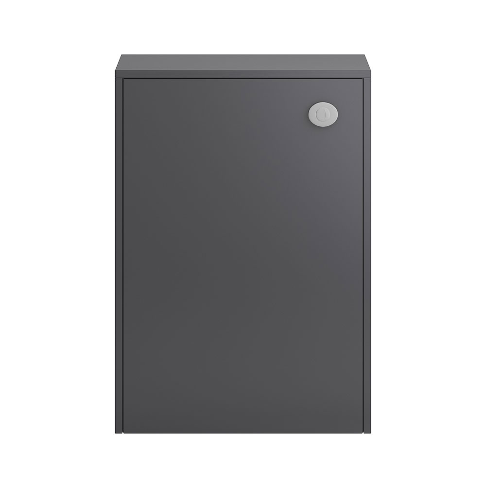 Hudson Reed Coast 600mm WC Unit - Grey Gloss