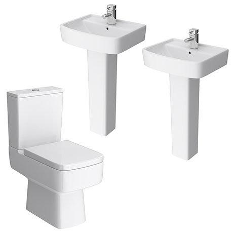 Brooklyn Modern Double Basin En-Suite Bathroom