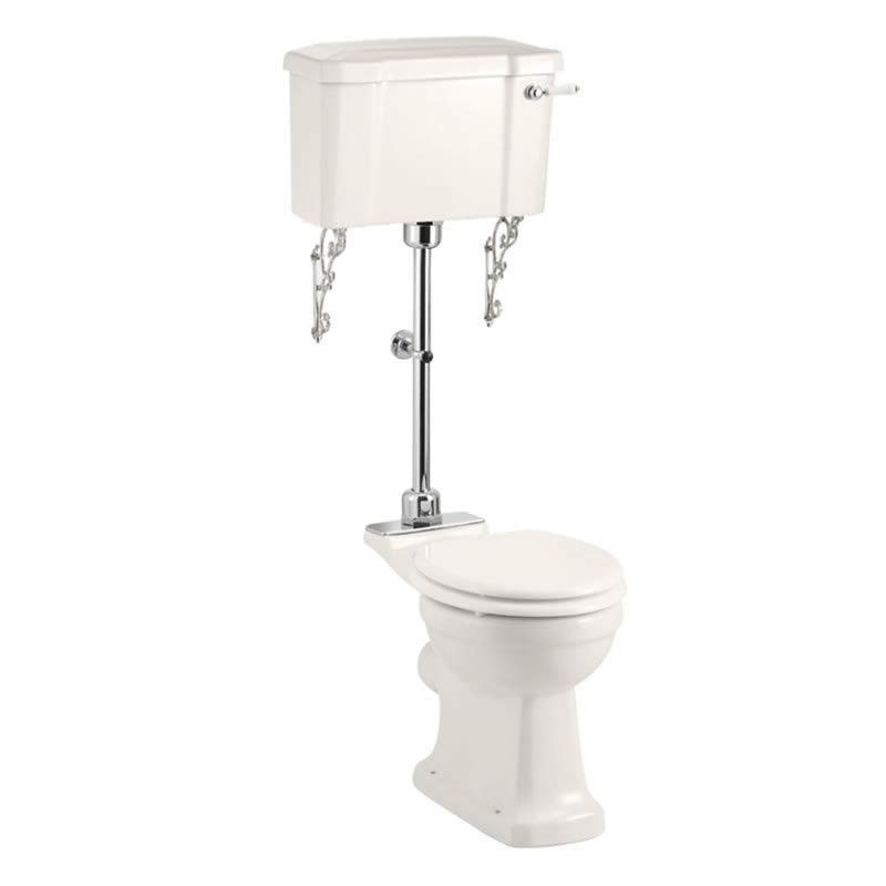 Burlington Medici Medium Level Traditional Toilet