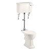 Burlington Medici Medium Level Traditional Toilet profile small image view 1