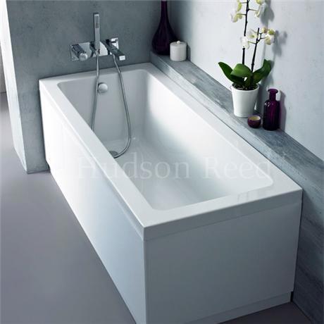 Linton eternalite square single ended bath legset 4 for Chatsworth bathroom faucet parts