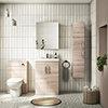 Brooklyn Natural Oak Floor Standing Vanity Furniture Package profile small image view 1