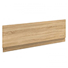 Brooklyn Natural Oak Wood Effect Bath Panel - Various Sizes profile small image view 1