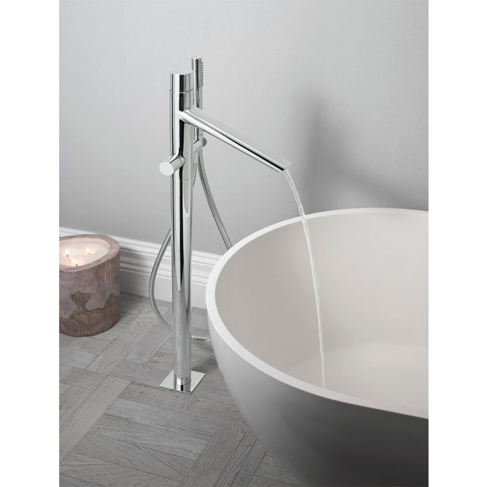 Crosswater - Bold Floor Mounted Freestanding Bath Shower Mixer - BO416FC Profile Large Image