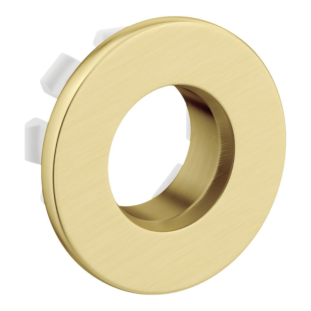 Quality Brass Made Basin Sink Overflow Cover Insert Hole Trim
