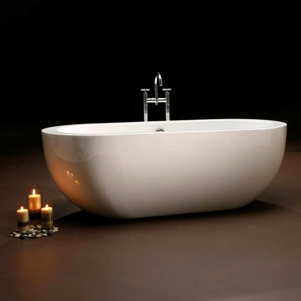 Royce Morgan Bolton Luxury Freestanding Bath with Waste Profile Large Image
