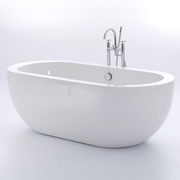 Royce Morgan Bolton Luxury Freestanding Bath with Waste Large Image
