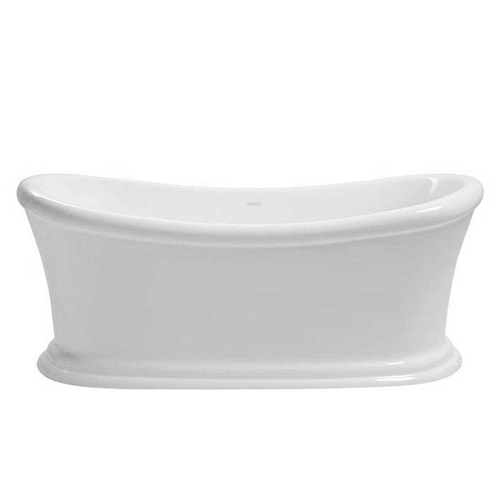 Heritage Orford Double Ended Slipper Roll Top Bath (1700x740mm) profile large image view 2