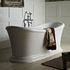 Heritage Orford Double Ended Slipper Roll Top Bath (1700x740mm) profile small image view 1