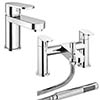 Bosa Modern Tap Package (Bath + Basin Tap) profile small image view 1