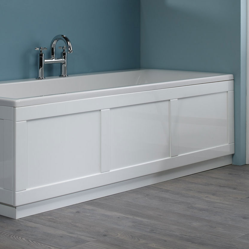 Roper Rhodes 800 Series 1700mm Front Bath Panel - Gloss White Large Image