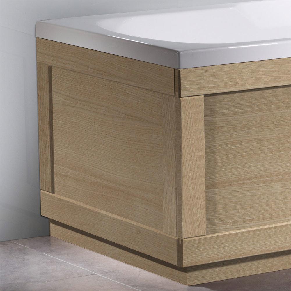 Roper Rhodes 800 Series End Bath Panel - Natural Oak - Various Size Options Large Image