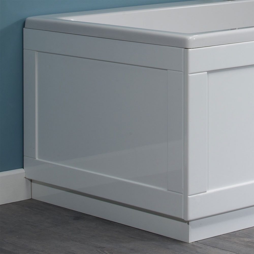 Roper Rhodes 800 Series End Bath Panel - Gloss White - Various Size Options Large Image