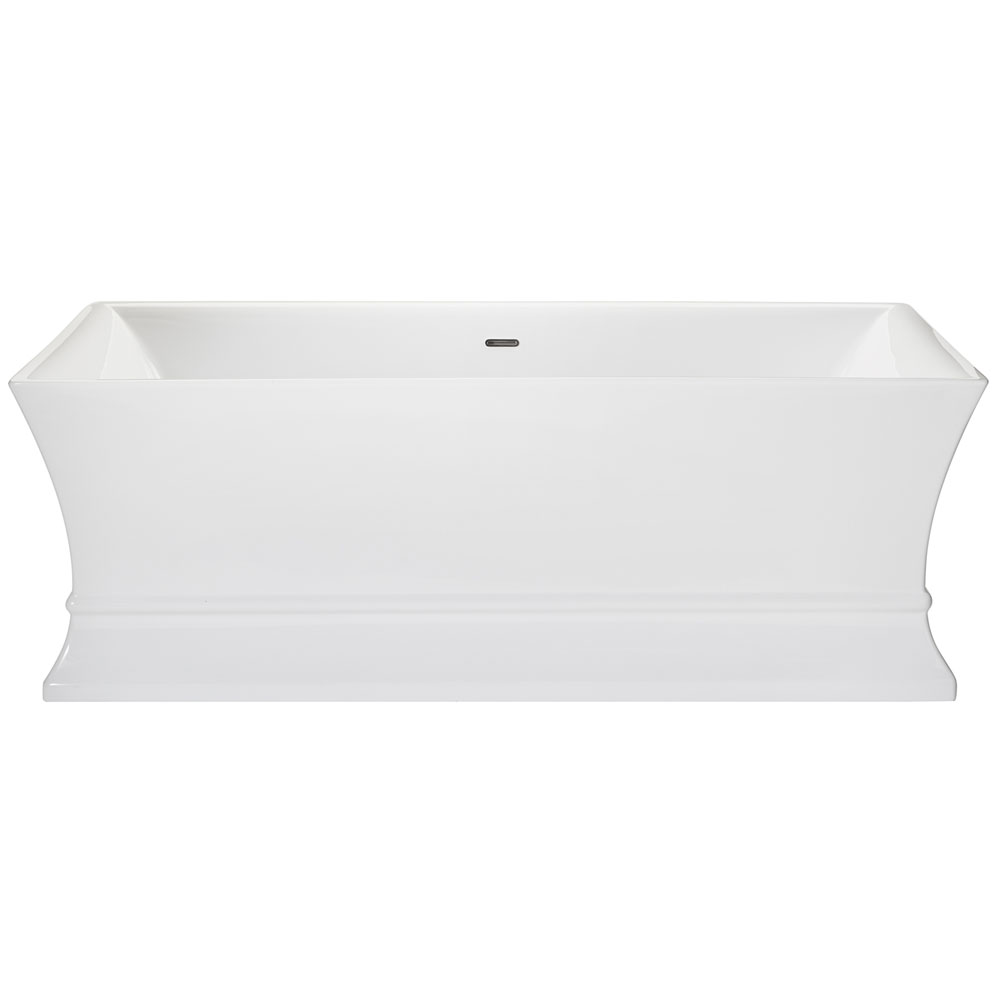 Heritage Penrose Freestanding Acrylic Double Ended Bath (1695 x 750mm) profile large image view 1