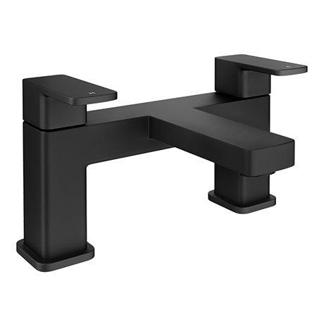 Turin Modern Black Bath Filler Tap - BPT7135