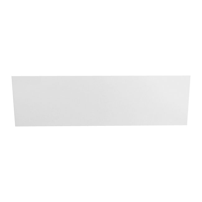 Heritage White Reinforced Front Bath Panel profile large image view 1