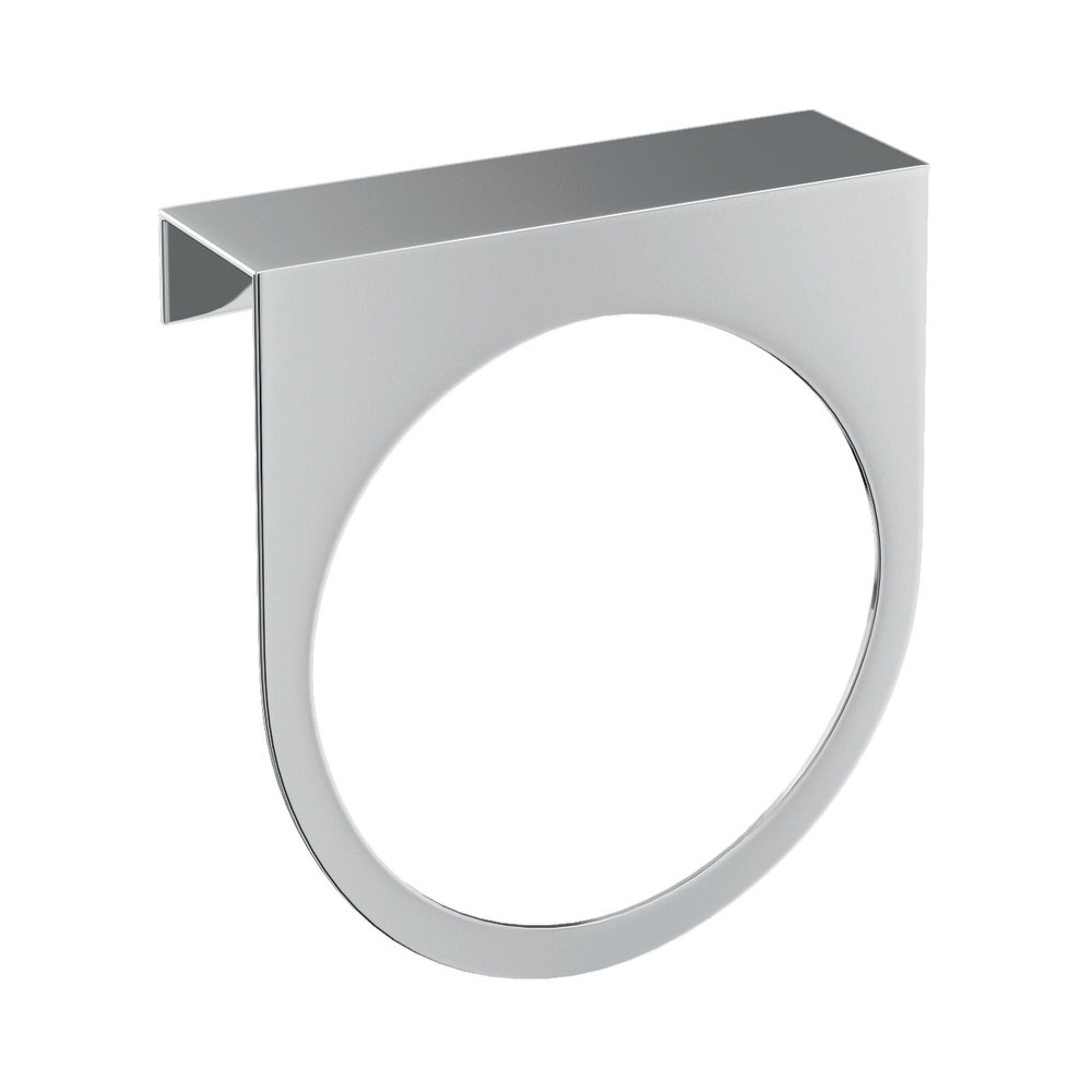 Britton Bathrooms - Stainless Steel Towel Ring Large Image