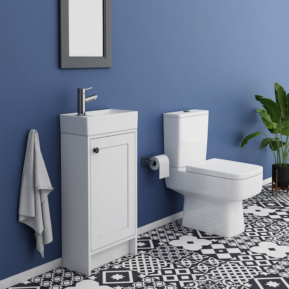 Bromley Small Cloakroom Suite