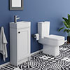 Bromley Small Cloakroom Suite profile small image view 1