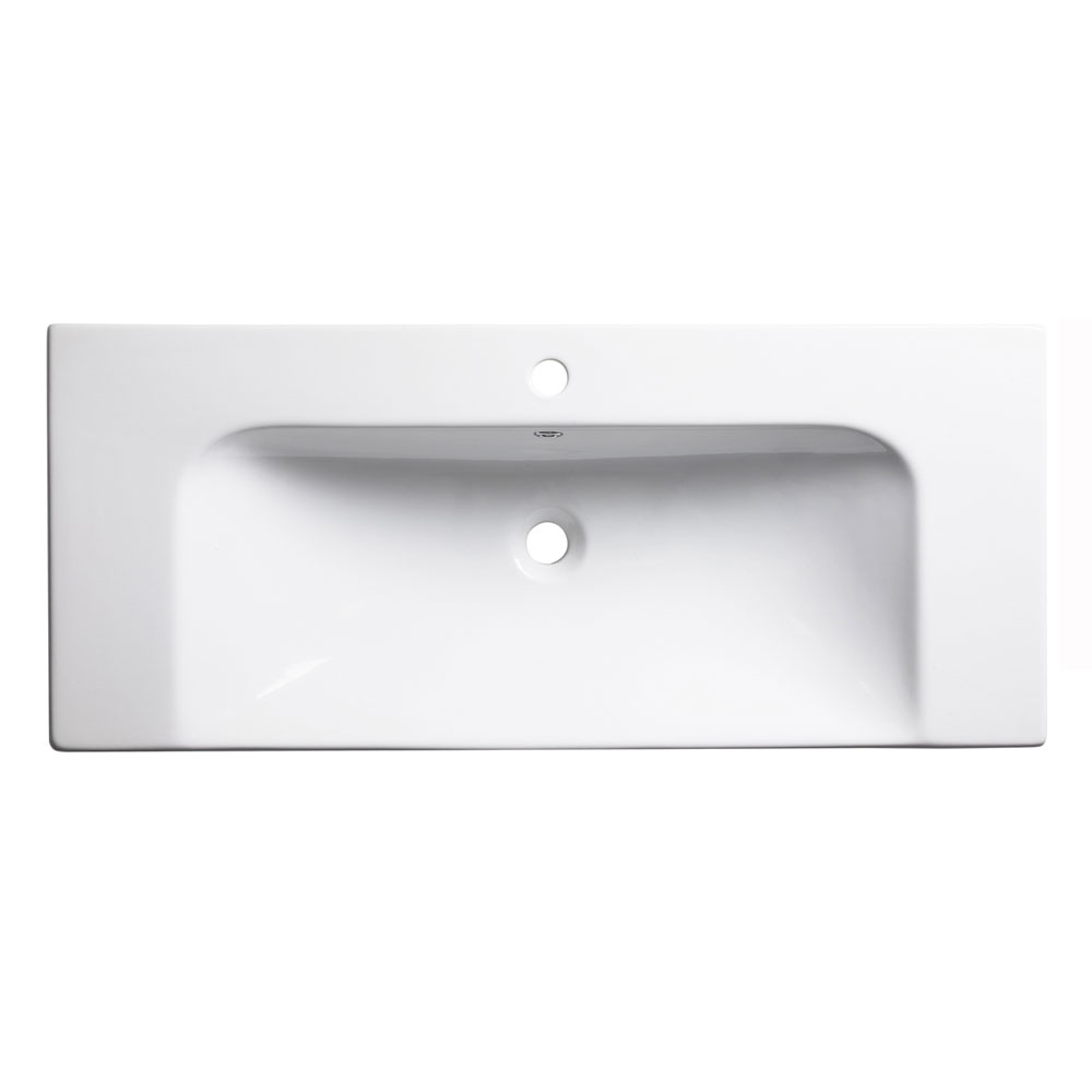 Roper Rhodes Breathe 1010mm Countertop or Wall Mounted Basin - BRE1000C Large Image