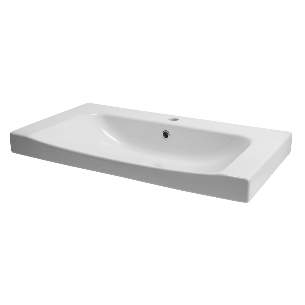Roper Rhodes Breathe 810mm Countertop or Wall Mounted Basin - BRE800C Large Image