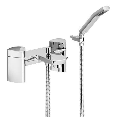 Bristan Bright Bath Shower Mixer with Kit