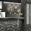 Brooklyn Glass & Stone Mosaic Tile Sheet - 292 x 303mm profile small image view 1