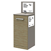 405 Floor Standing Hand Sanitiser Station profile small image view 1