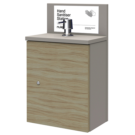 320 Wall Hung Hand Sanitiser Station
