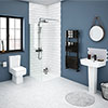 Brooklyn En-Suite Bathroom Suite profile small image view 1