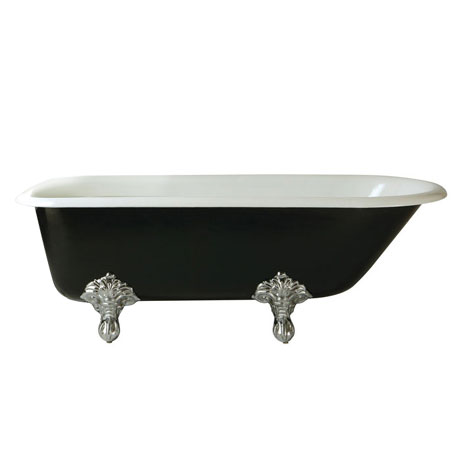 Heritage Essex 0TH Roll Top Cast Iron Bath (1700x770mm) with Feet