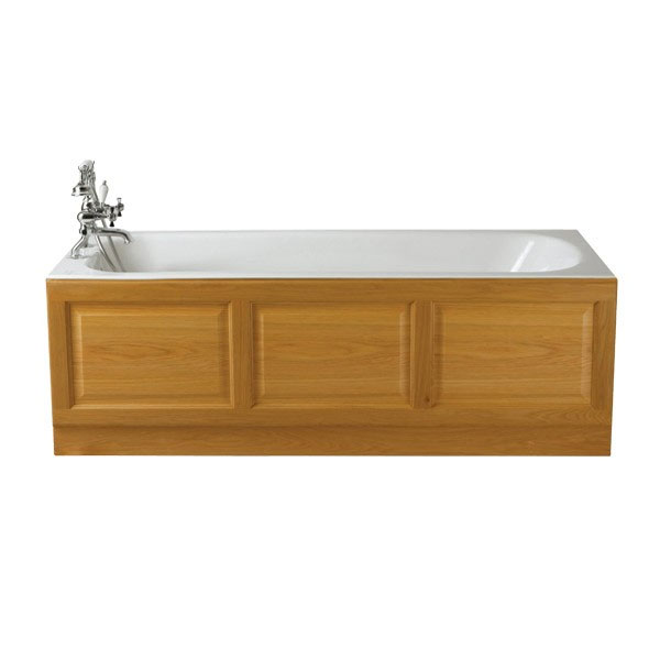 Heritage Grampian Single Ended Cast Iron Bath (1800x800mm) profile large image view 1
