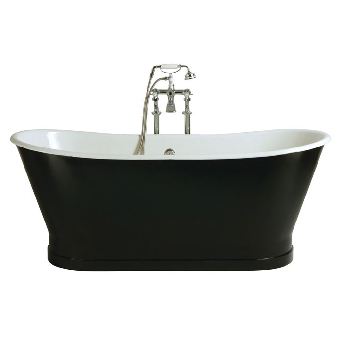 Heritage Madeira Double Ended Cast Iron Bath (1700x695mm) Large Image