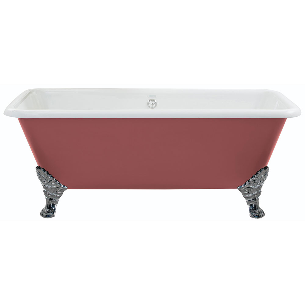 Heritage Dorset Double Ended Cast Iron Bath (1700 x 810mm) with Feet Large Image