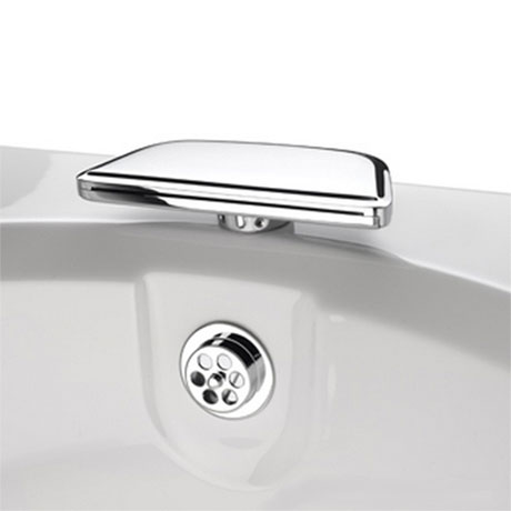 Bristan qube bath spout available now at victorian for Chatsworth bathroom faucet parts