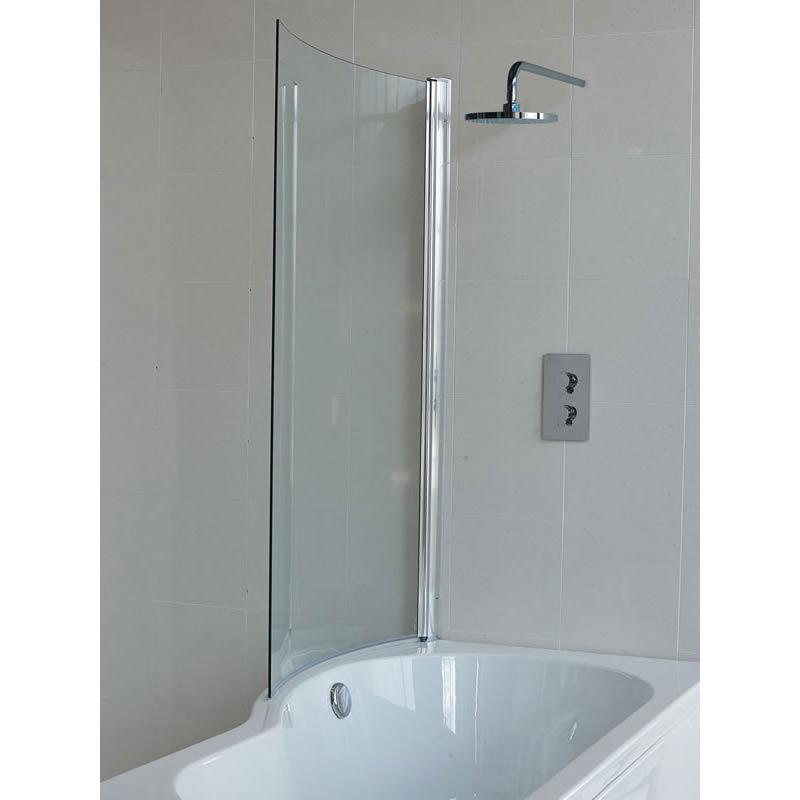 Britton Bathrooms - EcoRound Bathscreen - BS7 Large Image