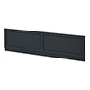 Chatsworth Graphite 1500 Traditional Front Bath Panel profile small image view 1