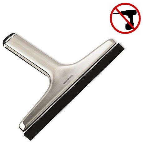 simplehuman Stainless Steel Bathroom Squeegee - BT1079