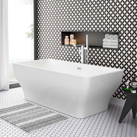 Windsor Mirage 1700 x 800mm Double Ended Freestanding Bath