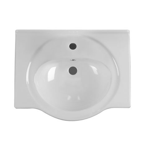 Roper Rhodes 550mm Ceramic Basin - BT550W profile large image view 1