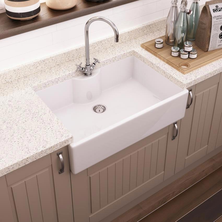 Premier Oxford Butler Ceramic Kitchen Sink - BTL008 Large Image