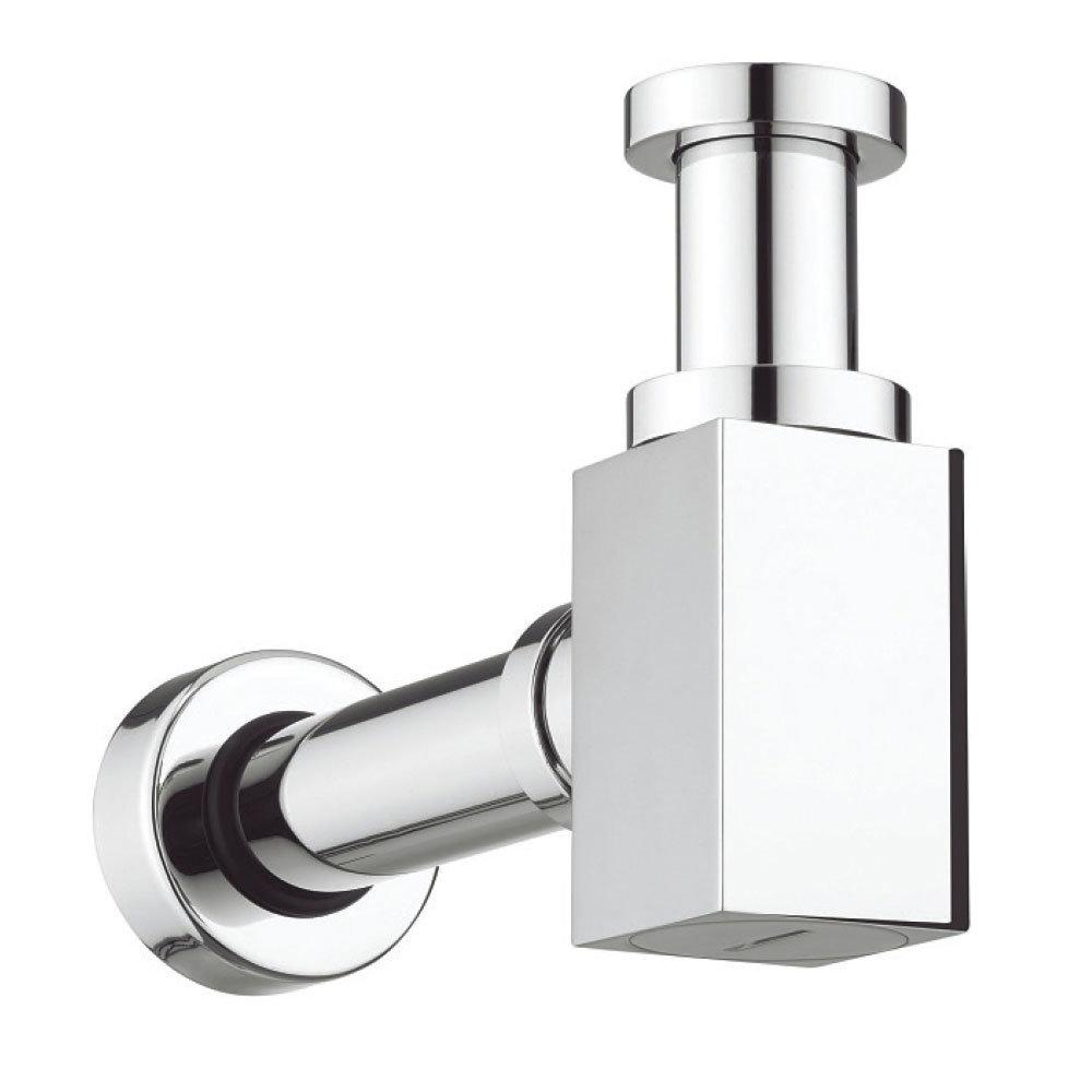 Bauhaus - Picasso Chrome Small Bottle Trap - BTR0404C Large Image