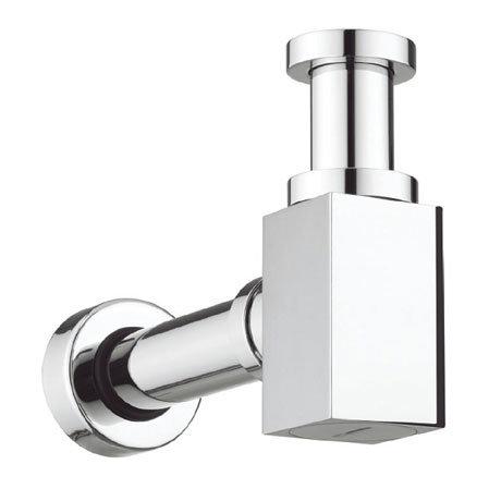 Bauhaus - Picasso Chrome Small Bottle Trap - BTR0404C